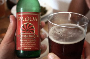 Pagoa red ale. Colour and taste