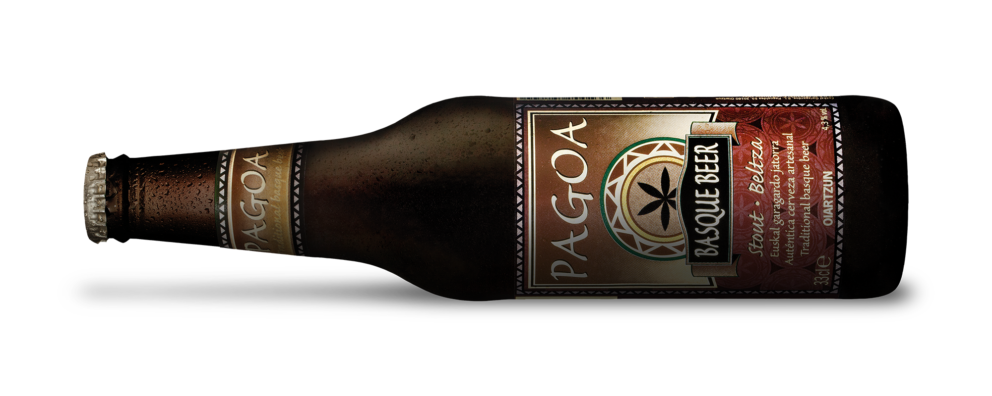 Pagoa Basque Beer Stout Beltza
